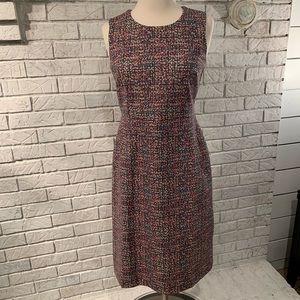 Lands' End multi colored dress size 2